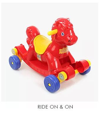 Ride On & On
