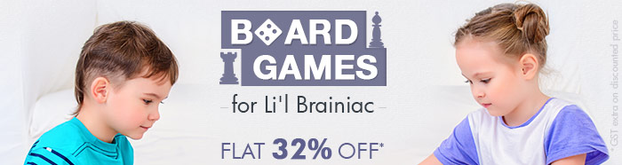BOARD GAMES for Lil Brainiac