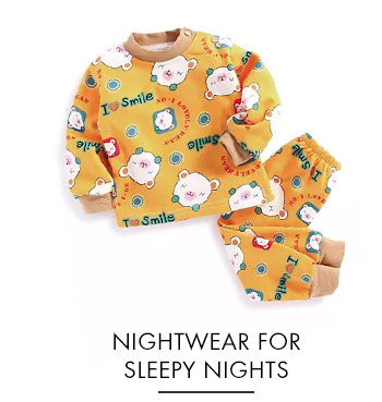 Nightwear For Sleepy Nights