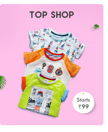 Top Shop- Starts from Rs. 99*