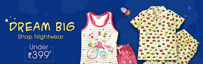 Dream Big Shop Nightwear