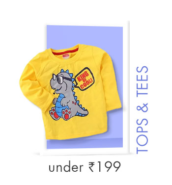 Tops & Tees Under Rs. 199
