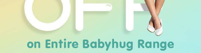 Flat 35% OFF* on Entire Babyhug Range