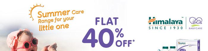 Himalaya - Flat 40% OFF*