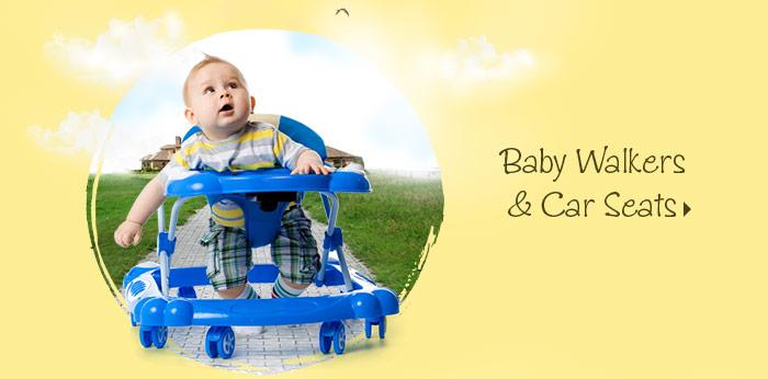 Baby Walkers & Car Seats