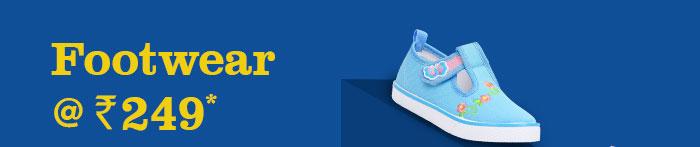 Footwear @ Rs. 249*