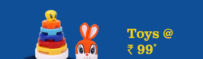 Toys @ Rs. 99*