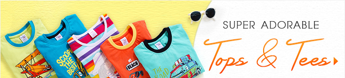 Super Adorable Tops & tees All Under Rs. 299*