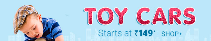 TOY CARS Starts at Rs. 149*