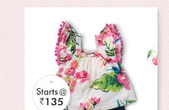 Starts at Rs. 135*