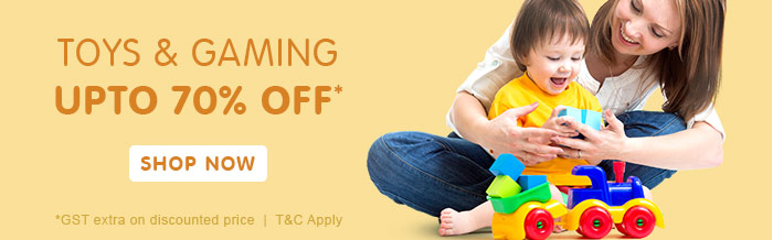 Toys & Gaming Upto 70% OFF*