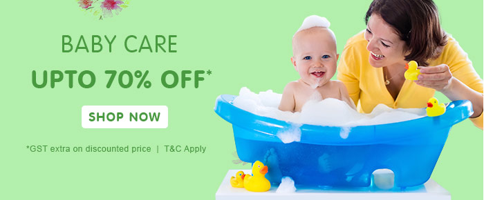 Baby Care Upto 70% OFF*
