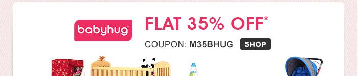 Babyhug Flat 35% OFF*