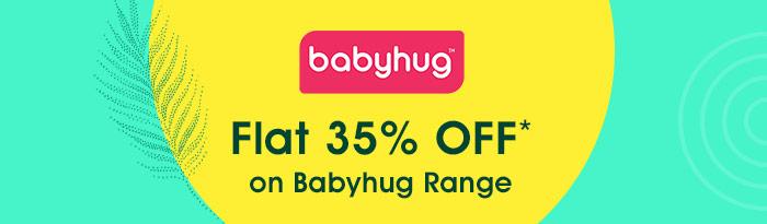 Flat 35% OFF* on Babyhug Range | Coupon: MAY35BH