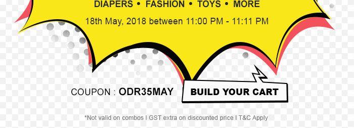 COUPON : ODR35MAY | BUILD YOUR CART
