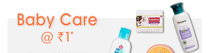Baby Care @ Rs. 1*