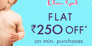 Else, Get Flat Rs. 250 OFF*