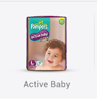 Pampers Active Baby Pants