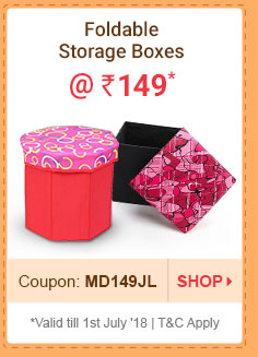 Foldable Storage Boxes @ Rs. 149* | Coupon: MD149JL