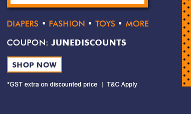 Coupon: JUNEDISCOUNTS  |  Shop Now