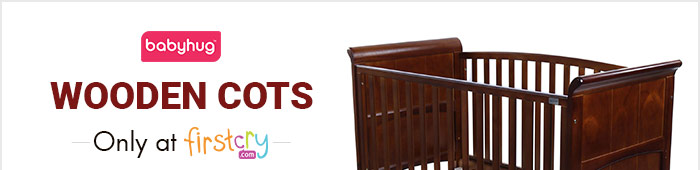 Babyhug Wooden Cots - Exclusively on Firstcry
