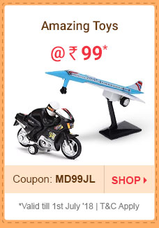 Amazing Toys @ Rs. 99* | Coupon: MD99JL