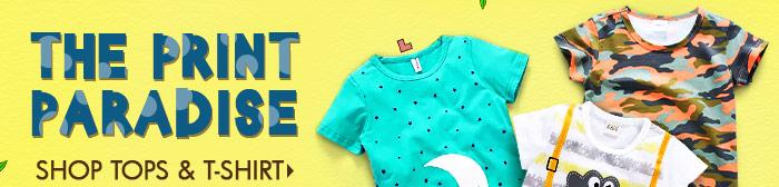 The Print Paradise shop Tops & T-Shirt