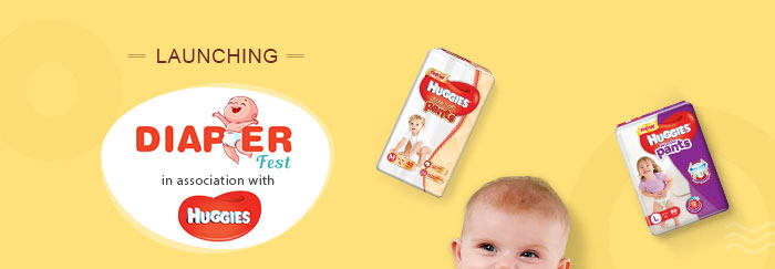 Diaper Fest in association with Huggies