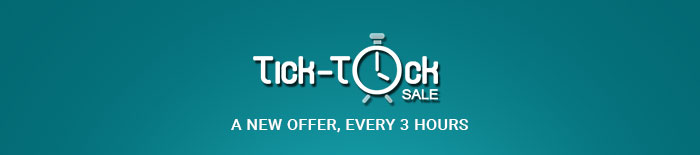 Tick Tock Sale_A New Offer, Every 3 Hours
