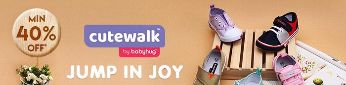 Jump in Joy Shop Footwear Cutewalk by Babyhug