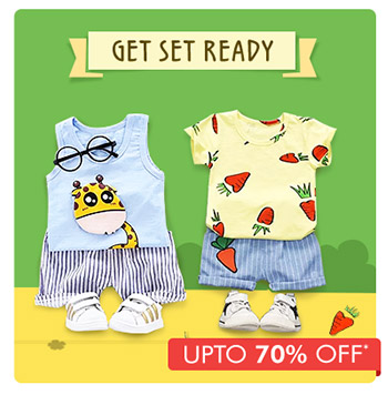Get Set Ready -  Upto 70% OFF*
