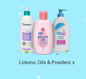 Lotions, Oils & Powders