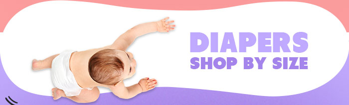 Diapers Shop by Size
