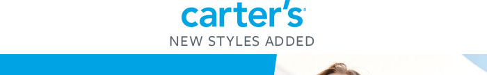 Carter's- New Styles Added