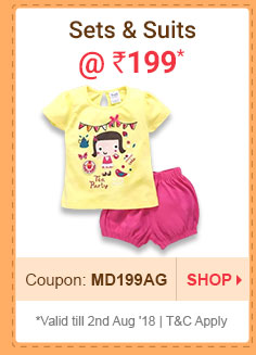 Sets & Suits @  Rs. 199 | Coupon: MD40JL