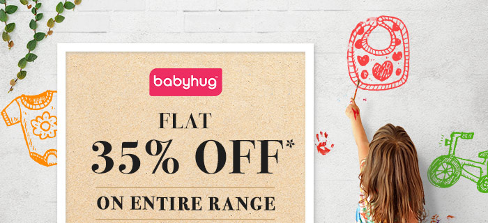 Flat 35% OFF* on Entire Babyhug Range  |  Coupon- AUG35BHG