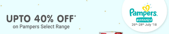 Pampers Bonanza_UPTO 40% OFF*