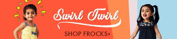 Swirl & Twirl Shop Frocks