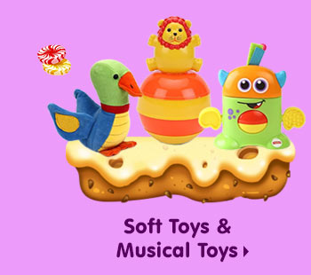Soft Toys & Musical Toys