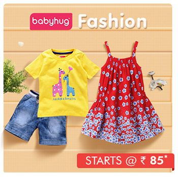 Babyhug Fashion - Starts @ Rs. 85*