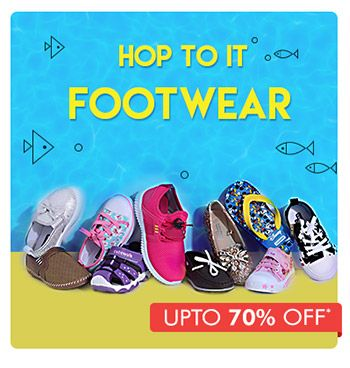 Hop To It Footwear - Upto 70% OFF*