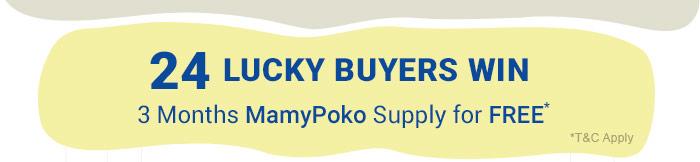 24 Lucky Buyers Win