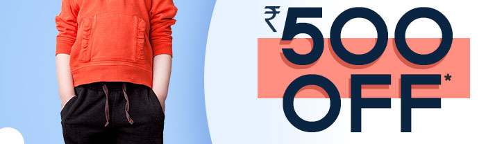 Flat Rs. 500 OFF* on Entire Fashion Range | COUPON: AUG500FSH
