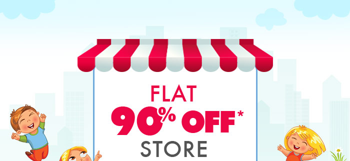 Flat 90% OFF* Store