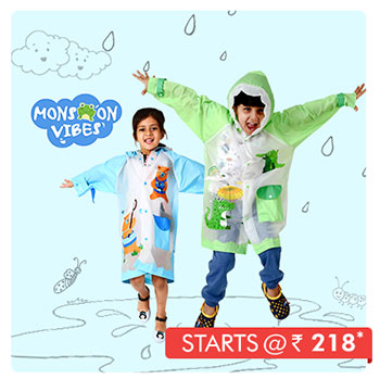 Monsoon Vibes Starts @ Rs. 218*