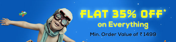 Flat 35% OFF* on Everything