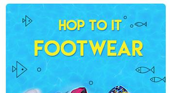 Hop To It Footwear - Upto 70% OFF*