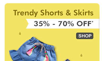 Trendy Shorts, Skirts & Jeans | 35% - 70% OFF*