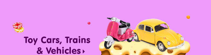 Toy Cars, Trains & Vehicles