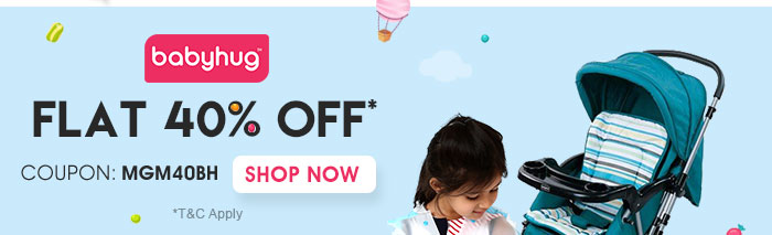 Flat 40% OFF* on Entire Babyhug Range